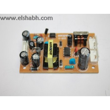 POWER BORD Receivers (+3.3V-+5V-+19V)