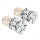 1156 BAU15S 13x5050SMD 60-100LM Yellow Light LED Bulb for Car (12V,2 pcs)