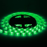 Waterproof 5M 30W 30x5050SMD 1500-1800LM Green Light LED Strip Light (DC12V)